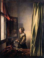 Vermeer - Fată citind