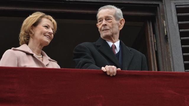 Regele Mihai cu Margareta